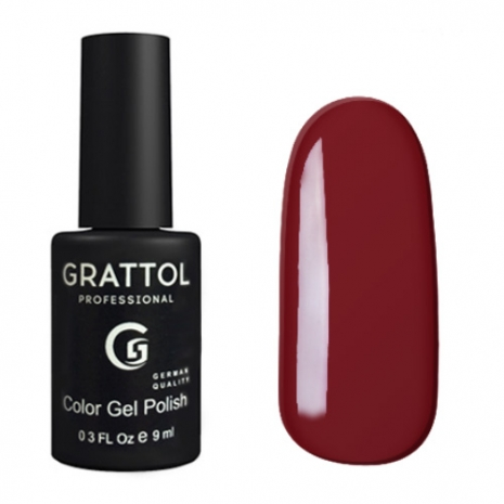 Гель-лак Grattol GTC022 Garnet, 9мл