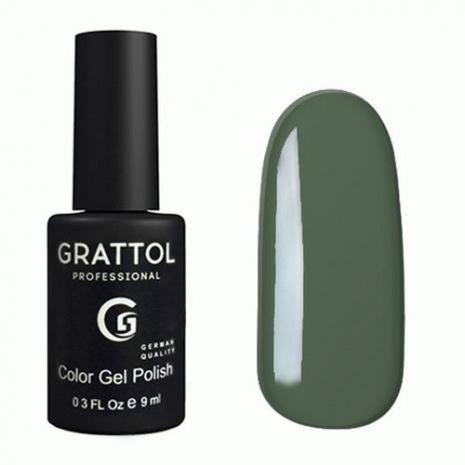 Гель-лак Grattol GTC059 Green Gray, 9мл