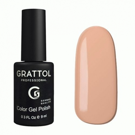Гель-лак Grattol GTC078 Light Peach, 9мл