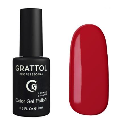 Гель-лак Grattol GTC085 Dark Red, 9мл
