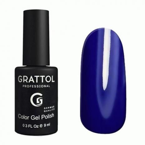 Гель-лак Grattol GTC096 Ultra Blue, 9мл