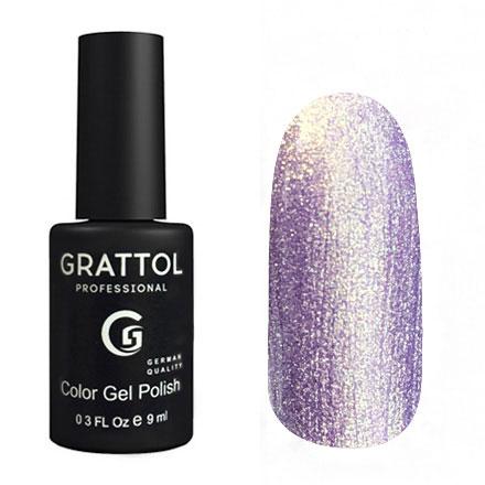 Гель-лак Grattol GTC157 Lilac Golden Pearl, 9мл