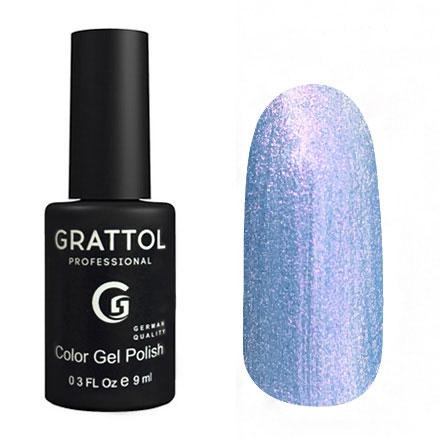 Гель-лак Grattol GTC160 Azure Pearl, 9мл