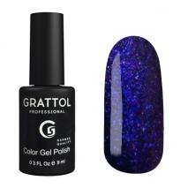 Гель-лак Grattol Хамелеон GTG001 Galaxy Emerald, 9мл