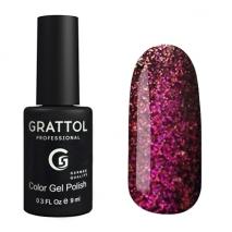 Гель-лак Grattol Хамелеон GTG003 Galaxy Garnet, 9мл