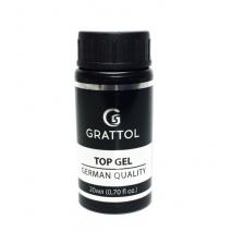 ( 20 мл ) Топ для гель-лака без липкого слоя Grattol No Wipe UV Filter Top Gel