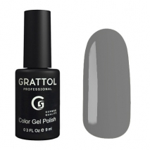 Гель-лак Grattol GTC173 Graphite, 9мл