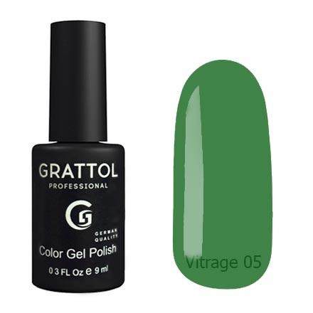 Гель-лак витражный Grattol Color Gel Polish Vitrage 05, 9 мл