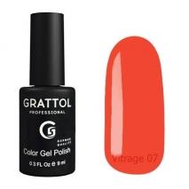 Гель-лак витражный Grattol Color Gel Polish Vitrage 07, 9 мл