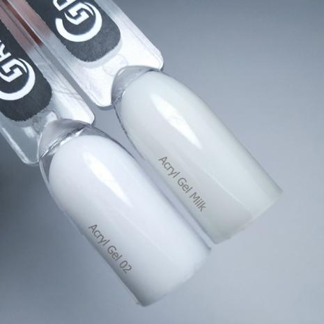 Акрил-гель Grattol Acryl Gel Milk, 30мл