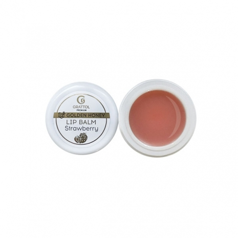 "( 5 мл ) Бальзам для губ ""Strawberry"" Grattol Premium Lip balm"