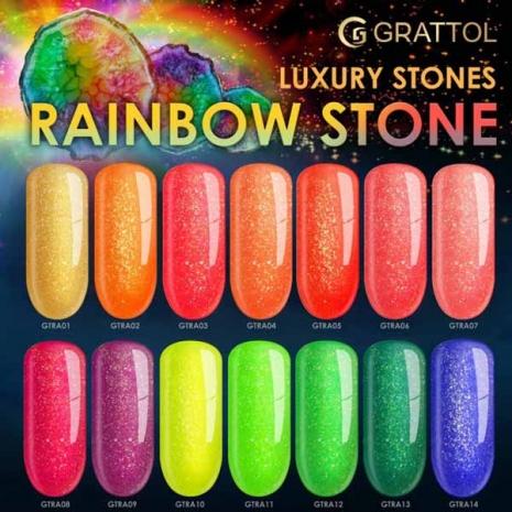 Гель-лак Grattol LS Rainbow 01, 9 мл