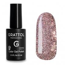 Гель-лак Светоотражающий Grattol Color Gel Polish Bright Cristal 02, 9 мл