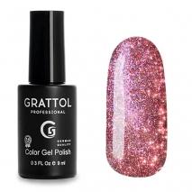 Гель-лак Светоотражающий Grattol Color Gel Polish Bright Cristal 04, 9 мл
