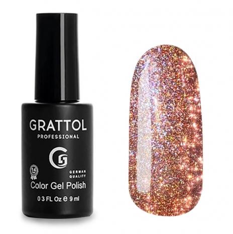 Гель-лак Светоотражающий Grattol Color Gel Polish Bright Cristal 05, 9 мл