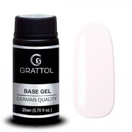 ( 20мл ) Камуфлирующая База №1  для гель-лака Grattol Rubber Base