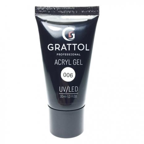 Акрил-гель Grattol Acryl Gel 06, 30 мл