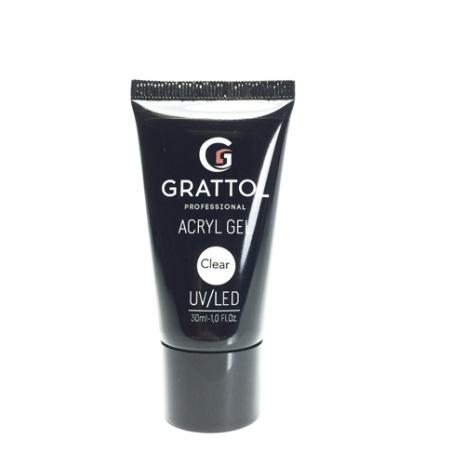 Акрил-гель Grattol Acryl Gel Clear, 30 мл