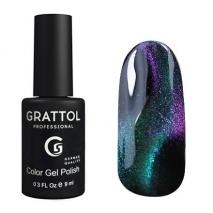 Grattol Color Gel Polish 9D Cat Eye 02, 9 мл