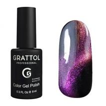 Grattol Color Gel Polish 9D Cat Eye 03, 9 мл