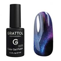 Grattol Color Gel Polish 9D Cat Eye 06, 9 мл