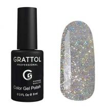 Гель-лак Grattol Opal Silver, 9мл