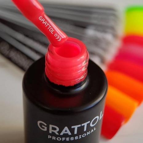Гель-лак Grattol GTC033 Granberry, 9мл
