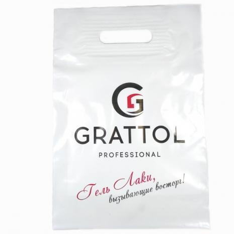 Пакет фирменный Grattol (A4, усиленная ручка)