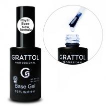 ( 9 мл ) База для гель-лака Grattol Base Royal