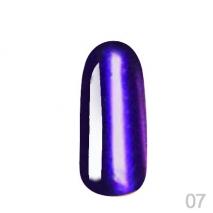 Втирка зеркальная Grattol Mirror Powder 07 Violet (1,1г)