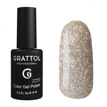 Гель-лак Grattol GTDM01 Diamond 01, 9мл
