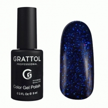 Гель-лак Grattol GTSP01 Sapphire 01, 9мл