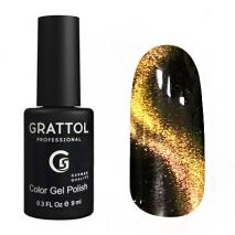 Гель-лак Grattol Mystery Cat GTMC02, 9мл