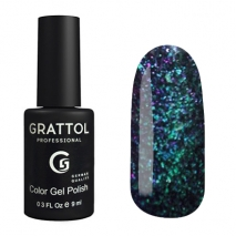 Гель-лак Grattol Хамелеон GTG005 Galaxy Ocean, 9мл