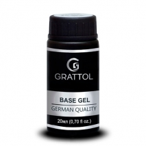 База Каучуковая Гипоаллергенная для гель-лака Grattol IQ Rubber Base Gel, 20мл