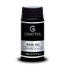 База Каучуковая для гель-лака Grattol Rubber Base Gel, 20мл