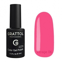 Гель-лак витражный Grattol Color Gel Polish Vitrage 06