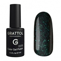 Гель-лак Grattol GTEM02 Emerald 02, 9мл