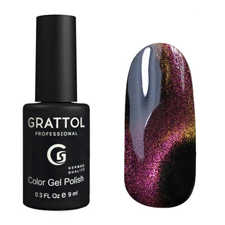 Grattol Color Gel Polish 9D Cat Eye 04
