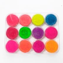 Набор цветных пигментов, 1уп (12шт)